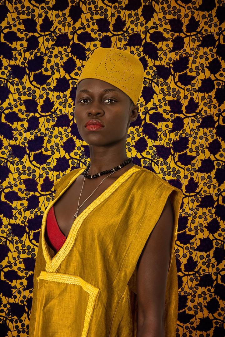 Omar Victor Diop's 'Studio ofVanities'