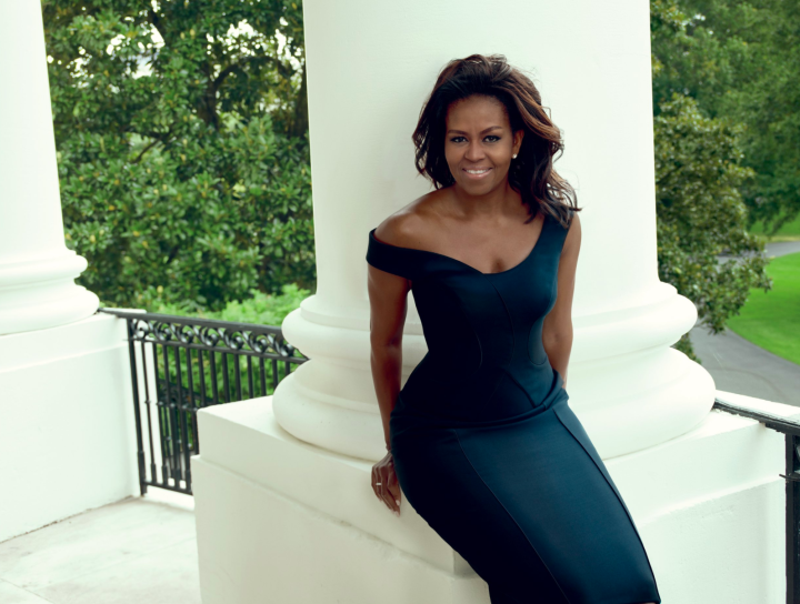 First Lady Obama is photographed by Annie Leibovitz for Vogue